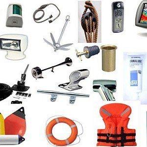 Оборудване и екипировка за лодки