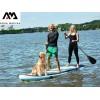 AquaMarina BT-18ST - Надуваем SUP борд SUPER TRIP, Размери: 370х87х15 cm, С гребло, помпа и сак за съхранение, Товароносимост: 210 кг, за двама+дете