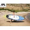 """AquaMarina BT-19BEP - Надуваем SUP борд """"BEAST"""", Размери: 320х81х15 cm, С гребло, помпа и сак за съхранение, Товароносимост: 135 кг"""