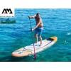 """AquaMarina BT-19MAP - Надуваем SUP борд MAGMA 10' 10"""", Размери: 330х81х15 cm, С гребло, помпа и сак за съхранение, Товароносимост: 140 кг"""