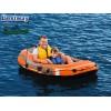 """BESTWAY 61100  – Надуваема лодка """"KONDOR 2000"""" с товароносимост за ЕДИН възрастен и ЕДНО дете, Размери: 188x98 cm, Товароносимост: 120 кг,  Без гребла и помпа в комплекта"""