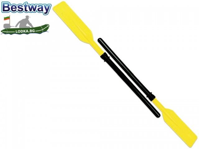 """BESTWAY 62018  - Комплект 2 бр. пластмасови гребла """"DELUXE"""", Дължина: 114 cm"""