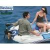 BESTWAY 62069 - Транцева дъска за лодка, Регулируема, От импрегнирана дървесина