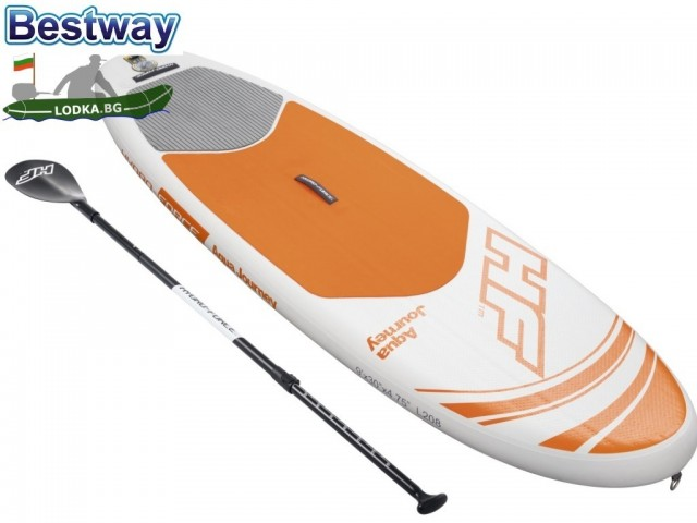 9dcf71c3e07 BESTWAY 65302 - Надуваем SUP борд (Stand Up Paddle board)