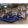 """BESTWAY 67681 - Надуваем ДВОЕН дюшек/матрак """"Blue Unisex"""", Размери: 191x137x30 cm, Цвят: син"""