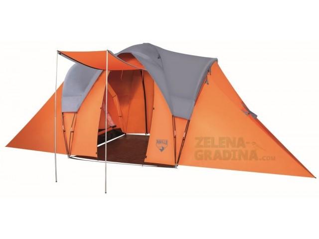 "BESTWAY 68016 - ШЕСТМЕСТНА палатка ""Campbase X6"""