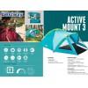 """BESTWAY 68090 - ТРИМЕСТНА палатка """"Active Mount 3"""", Размери: (210+1.40)x2.40x1.30 cm, Тегло: 4.80 кг"""