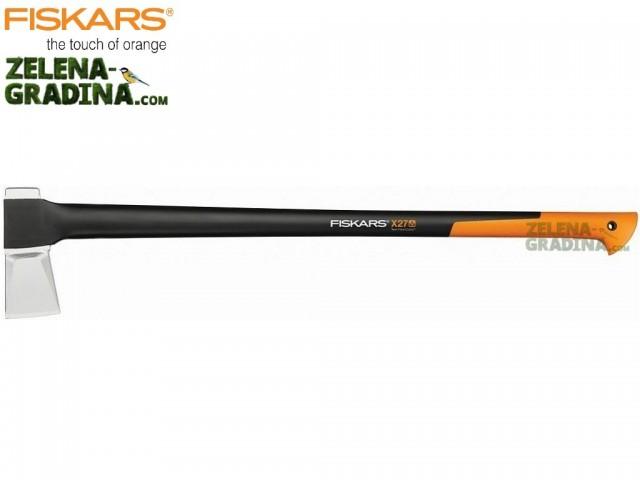 """FISKARS 122503 - Брадва за цепене на дърва """"X27 - XXL"""", Дължина: 91.5 cm, Тегло: 2.6 кг"""