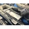 """HONDA T30 AE2 - Надуваема ЧЕТИРИМЕСТНА моторна рибарска лодка с твърдо АЛУМИНИЕВО дъно и надуваем кил """"HONWAVE T30 AE2"""" с размери 297x157 cm, Товароносимост: 610 кг, Цвят: светло сива"""