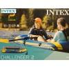 """INTEX 68367NP - Надуваема ДВУМЕСТНА лодка """"CHALLENGER 2"""", Размери: 236х114х41 cm, Товароносимост: 200 кг, С гребла и помпа в комплекта"""
