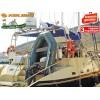 """KOLIBRI - Надуваема ЧЕТИРИМЕСТНА РИБАРСКА КИЛОВА лодка """"KM-330D-Aluminium floor"""", Размери: 330x160cm, ТВЪРДО АЛУМИЕВО ДЪНО, Товароносимост: 455 кг, Цвят: Сив"""