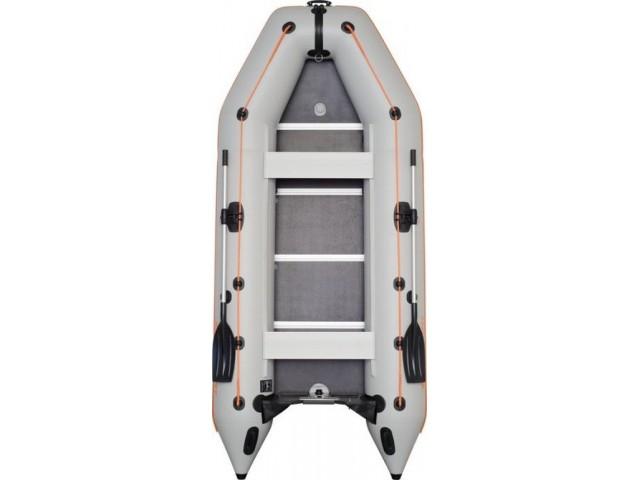 """KOLIBRI - Надуваема ПЕТМЕСТНА РИБАРСКА МОТОРНА лодка """"KM-360D-Aluminium floor"""" с размери 360x160cm + ТВЪРДО АЛУМИНИЕВО ДЪНО, Товароносимост: 632 кг"""