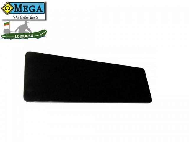 OMEGA - Дървена стационарна пейка за надуваема лодка - 65 cm.