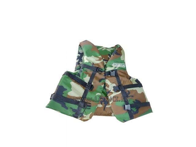 OMEGA - Детска спасителна жилетка (40-50 кг.) Camouflage