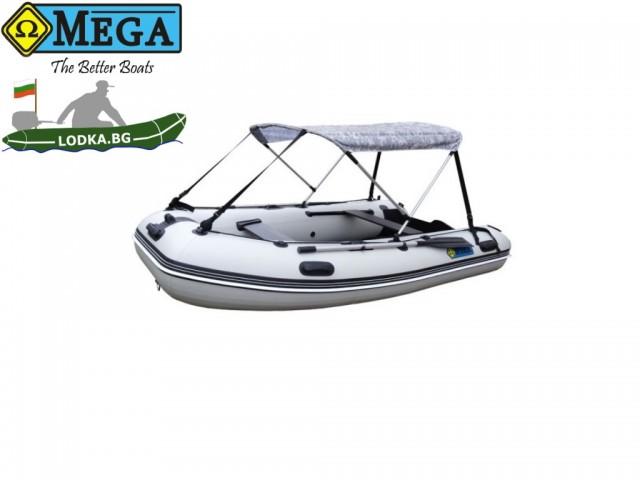 OMEGA - Тента за лодка 310 MU/KU, Дизайн на материята: snow pixel